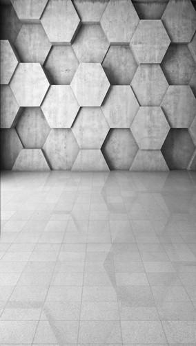 Hexagonal Chic Backdrop