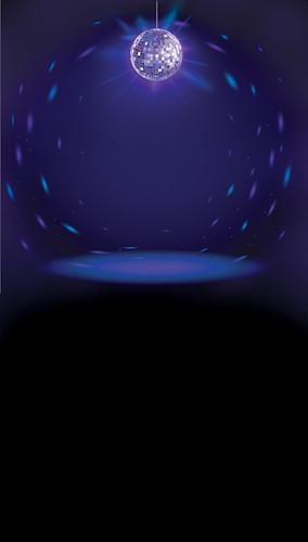 Disco Fever Backdrop