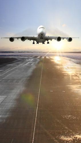 Airplane Backdrop
