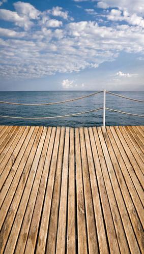 Boardwalk Backdrop