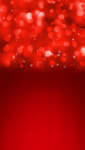 Christmas Red Sparkle Confetti