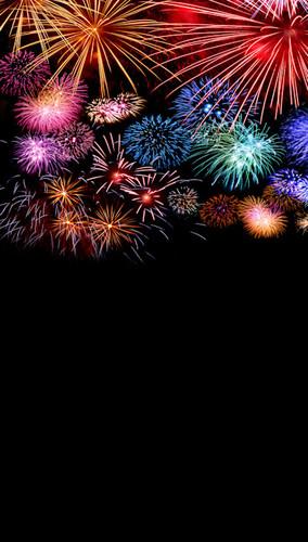 Fireworks Finale Backdrop
