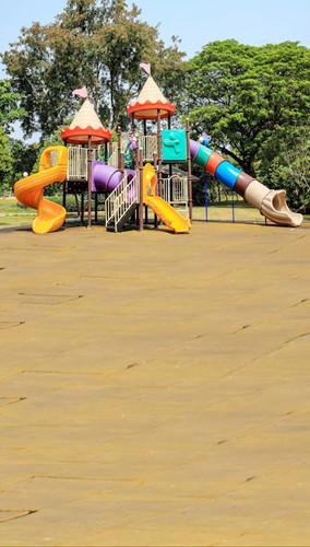 Castle Playground Backdrop