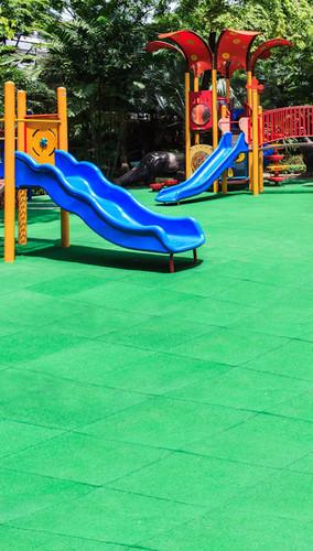 Double Slide Playground Backdrop