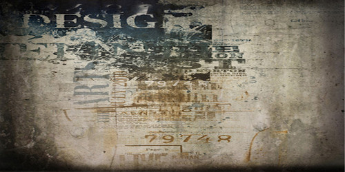 Grunge Graphic Wall Wide Format