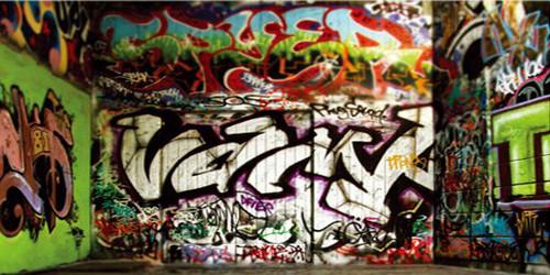 Graffiti Alley Wide Format