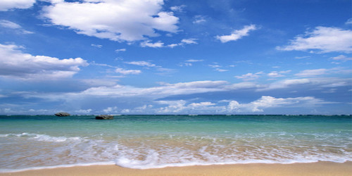 Sandy Beach Wide Format
