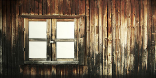 Barn Window Wide Format