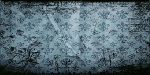 Fleur de Lis (Blue) Wide Format