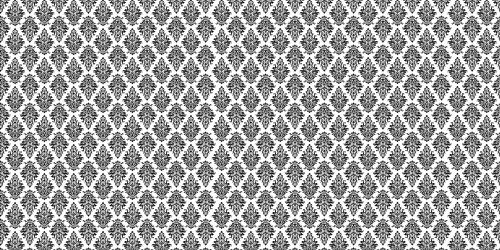 Argyle Damask (Black) Wide Backdrop