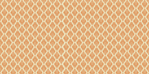 Argyle Damask (Orange) Wide Format Backdrop