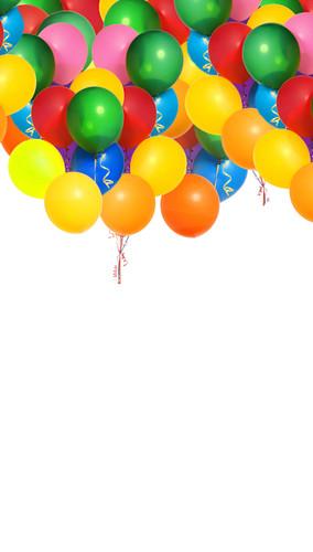 Balloon Celebration Backdrop