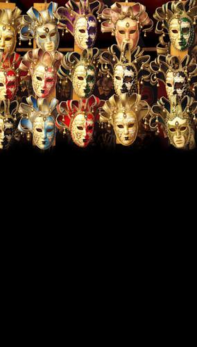 Venetian Masks Backdrop