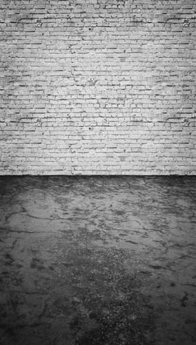 Whitewashed Brick Wall Backdrop