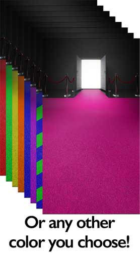 Custom Red Carpet Entrance Backdrop