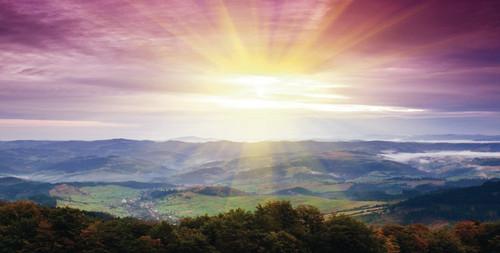 Purple Mountains Majesty Backdrop