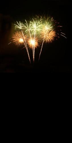 Limeade Fireworks Backdrop