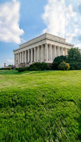 Lincoln Memorial Backdrop