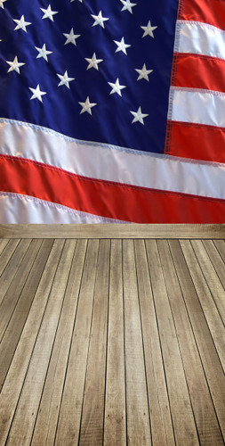 Flag Wall Backdrop