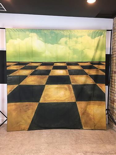 Checkered Sky 8x8 PrismaCloth Backdrop