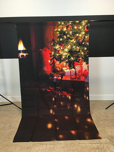 Cozy Christmas 5x9 PrismaCloth Backdrop