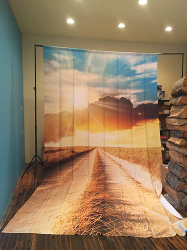 Sunburst Road 9x16 PrismaCloth Backdrop