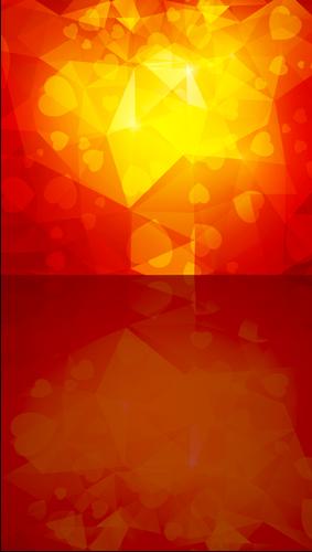 Prism Hearts Backdrop