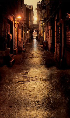 Dark Alley Photography Backdrops