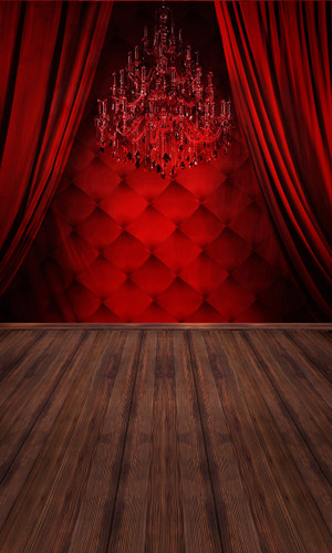 Red Boudoir Backdrop