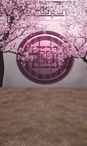Cherry Tree Wall Backdrop