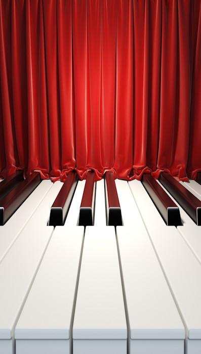 Big Piano Backdrop Photo Pie