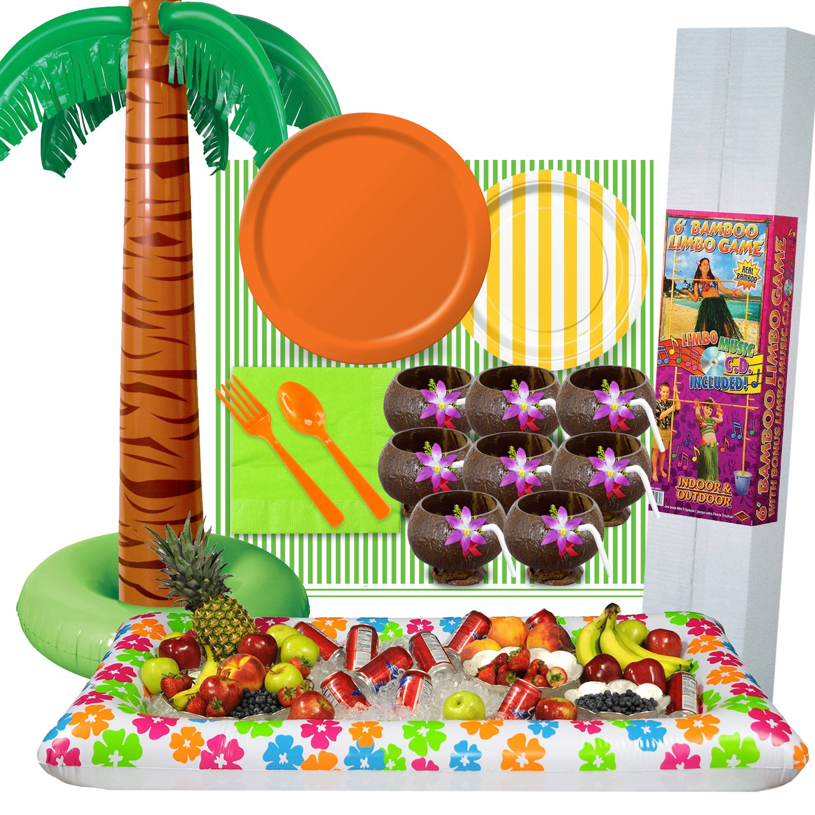 Luau And Hawaiian Party Supplies And Halloween Costumes