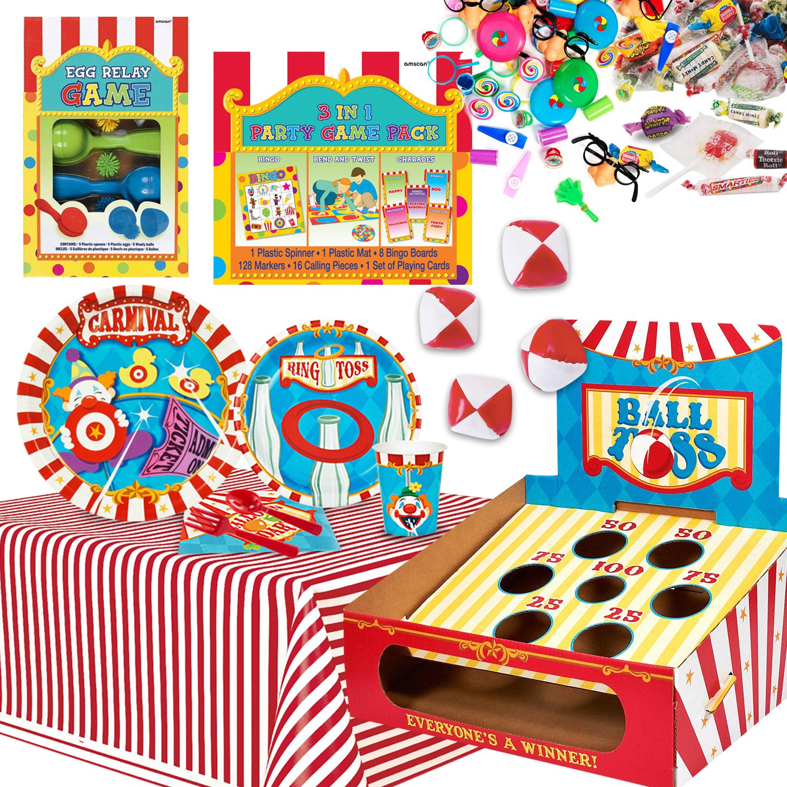 Carnival And Circus Party Supplies And Halloween Costumes
