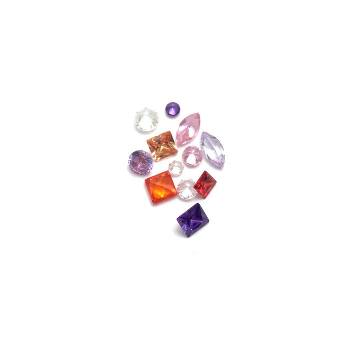 Lab Created Gempack - Shape Selection (12 stones)