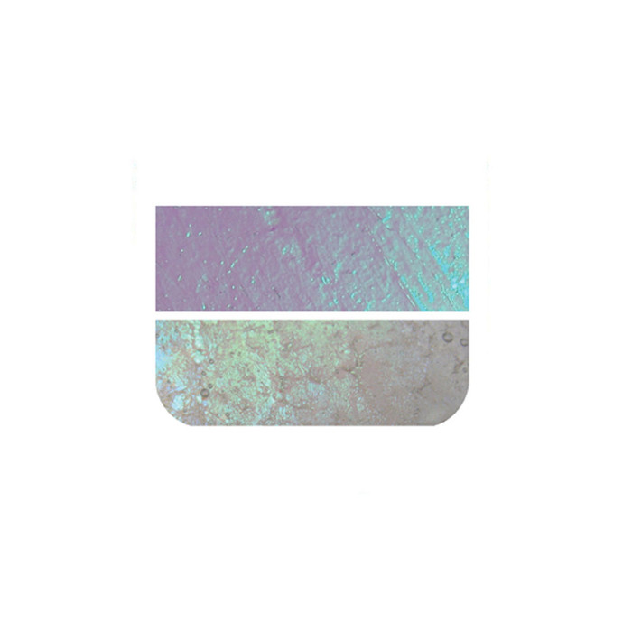 Fuseworks Dichroic Clear Glass - 50 x 76mm