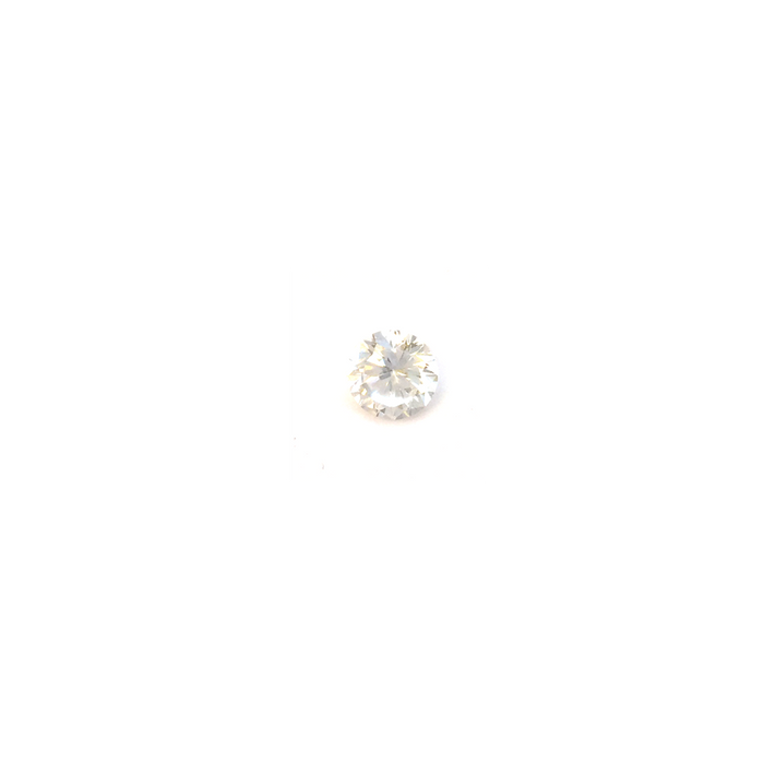 Lab Created Gemstone - White Round