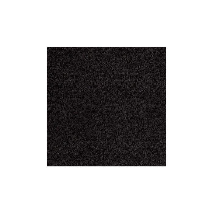 Black Acrylic Underlay - Textured Leather Grain