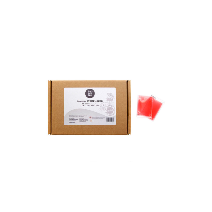 Stampmaker 1.9mm Red Sachets - (A9) Pack of 20