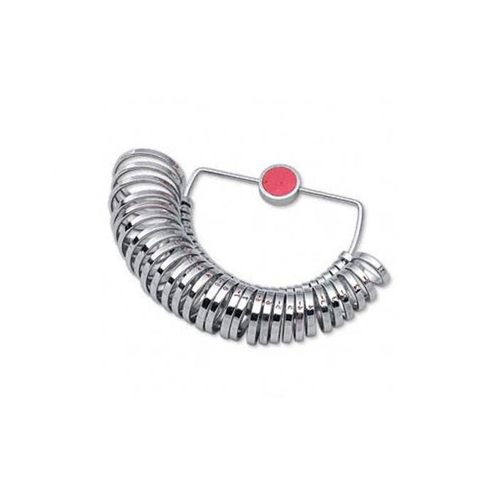 Ring Gauge Half Round - Metal - US Sizes