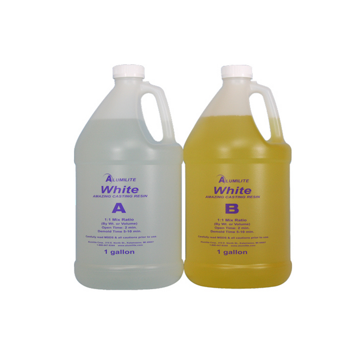Alumilite Amazing Opaque White Casting Resin - 7.5 Litres