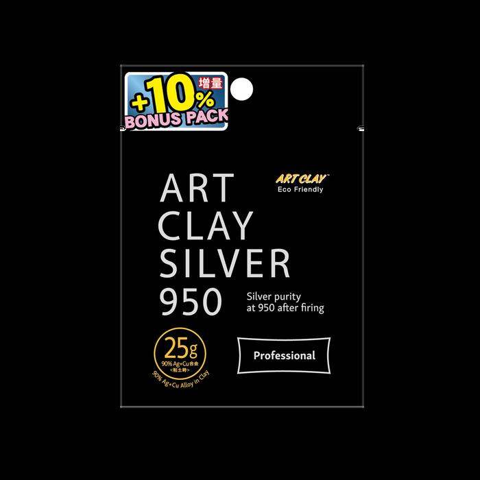 Art Clay Silver 950 STERLING - 25g + 2.5g bonus