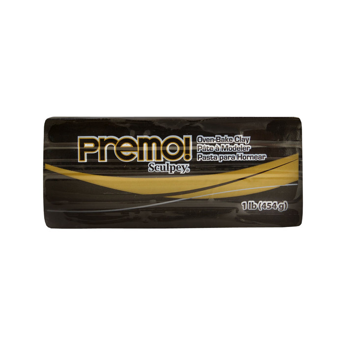 *Premo Sculpey, Black - Large