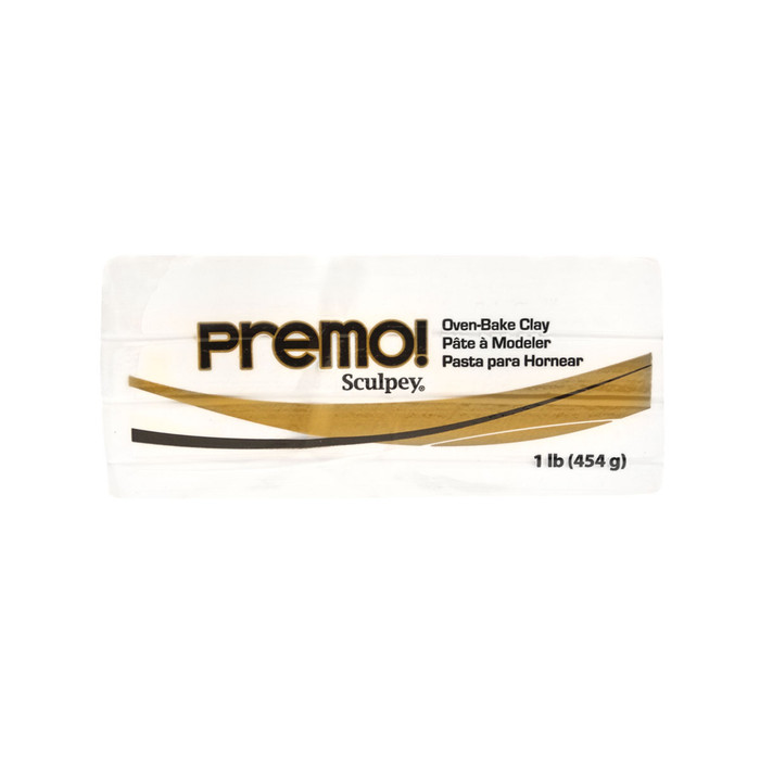 *Premo Sculpey, White - Large