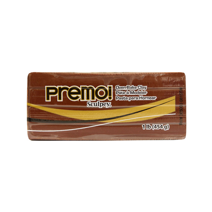 *Premo Sculpey, Burnt Umber - Large