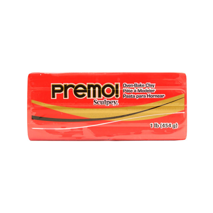*Premo Sculpey, Cadmium Red - Large