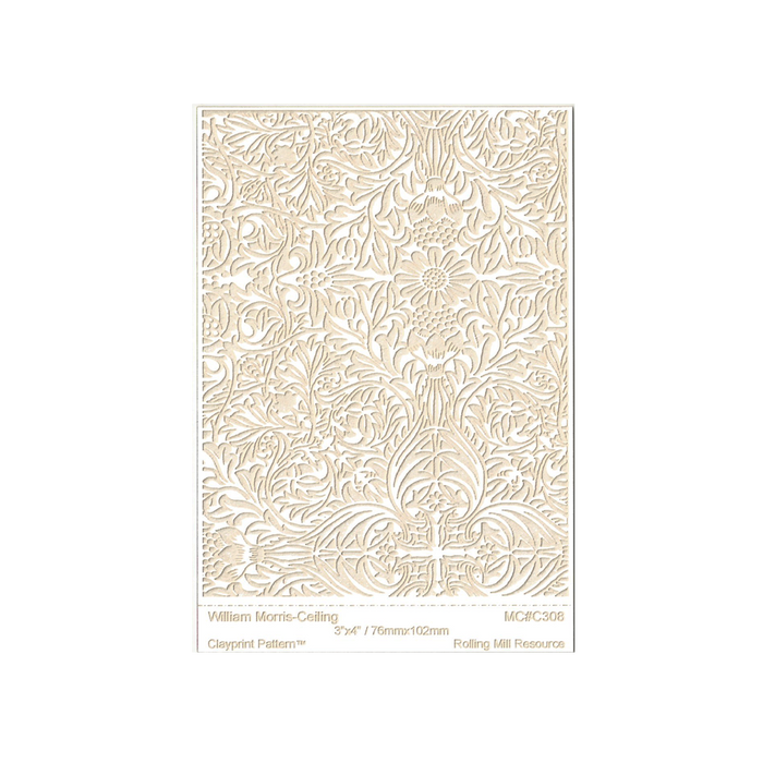RMR Laser Texture Paper - William Moris Ceiling - 76 x 102mm