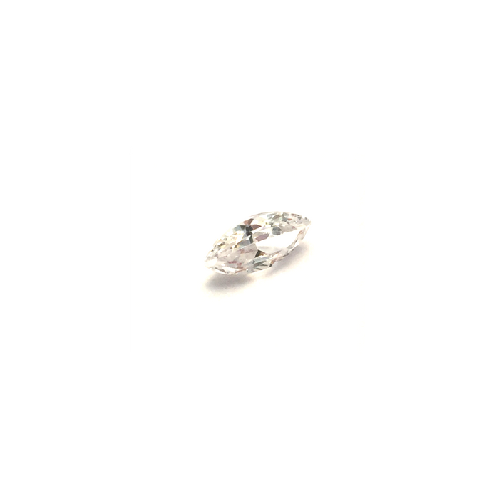 Lab Created Gemstone - White Marquise