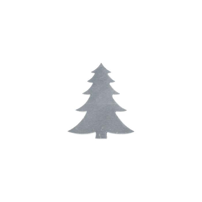 Aluminium Blank - Fir Tree - 46 x 40mm