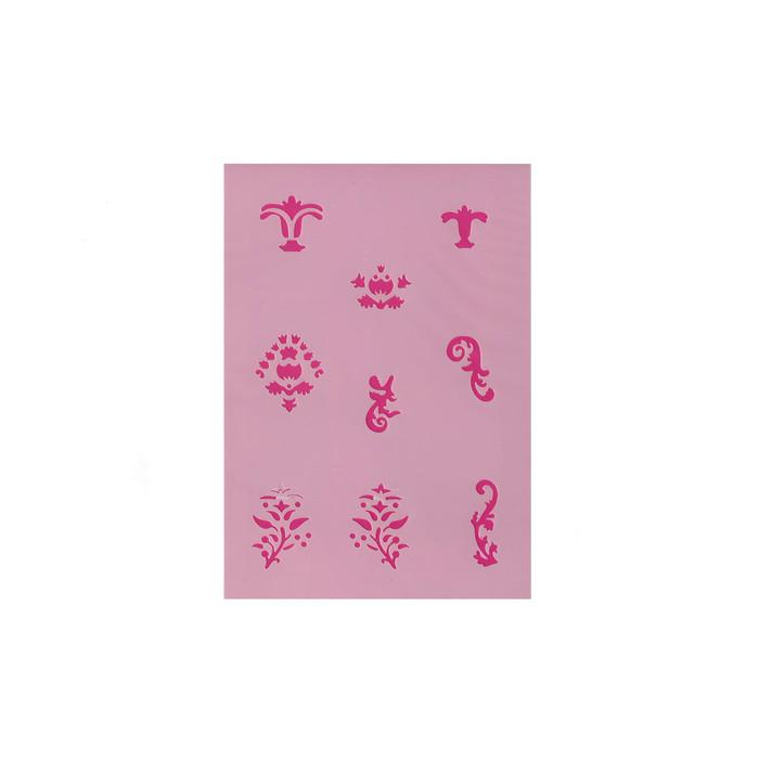 Efcolor Stencil Sheet - Ornaments - 9