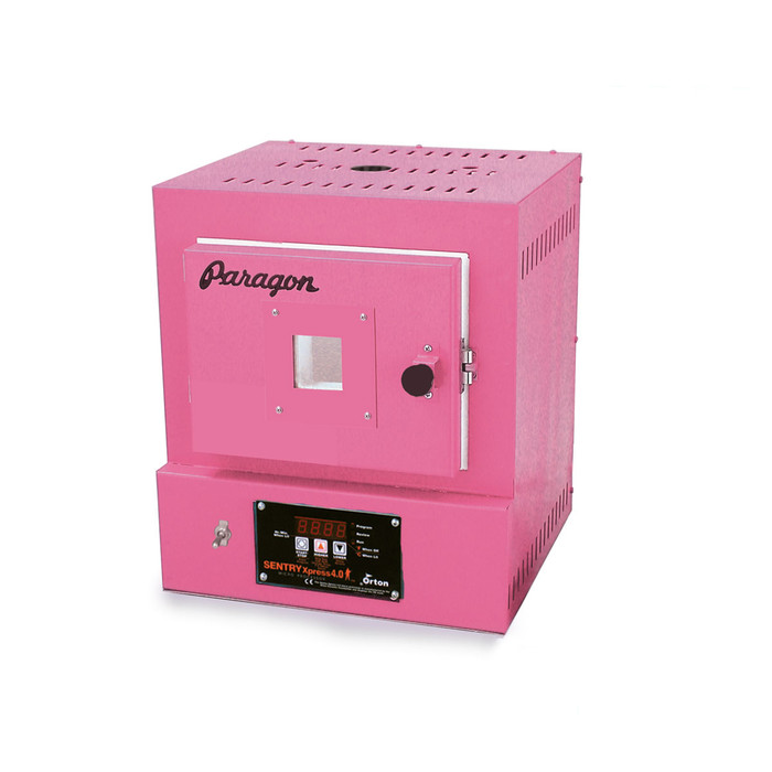 Paragon SC2 Programmable Kiln with Window - Hot Pink